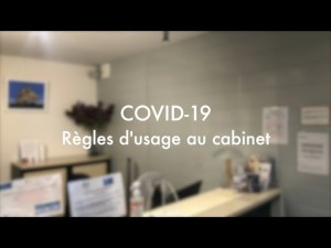 Règles d'usage COVID-19 cabinet dentaire la Bernerie-en-Retz